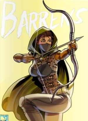 Barrens variant issue 1 cover