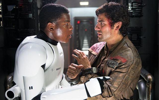 Boyega and Isaac