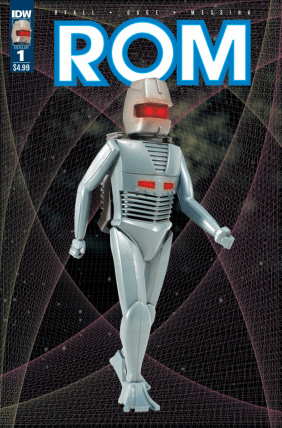 Rom #1 R1 Cover C, Classic Toy Variant