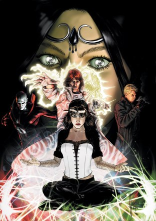 Justice League Dark cover art issue 6 Mikel Janin