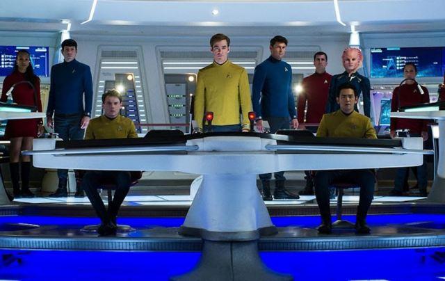 Star Trek Beyond cast photo