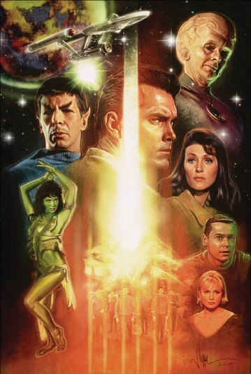 Paul Shipper The Cage Star Trek 50 Years 50 Artists