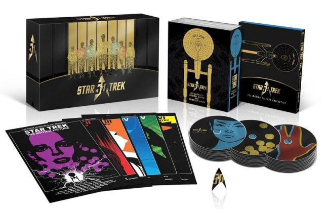 Star Trek blu-rays 50th anniversary box set