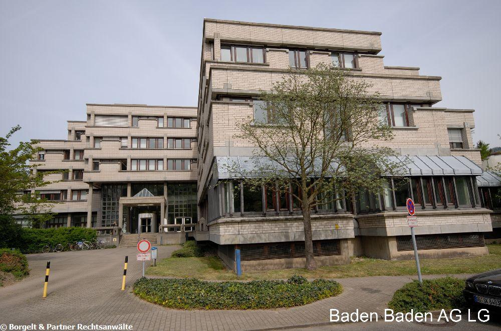 Baden Baden Landgericht