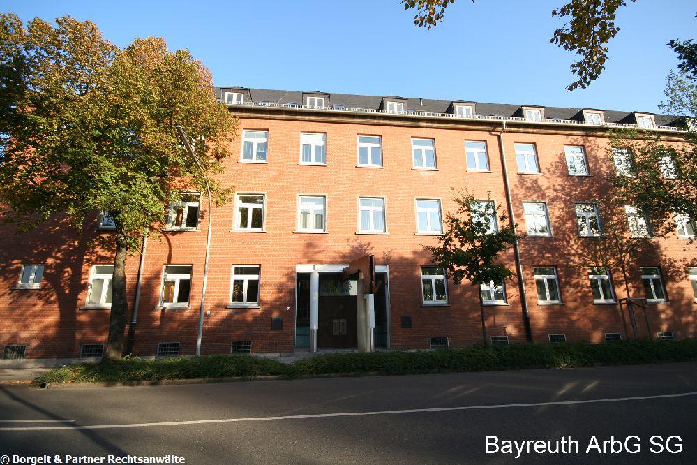 Bayreuth Arbeitsgericht