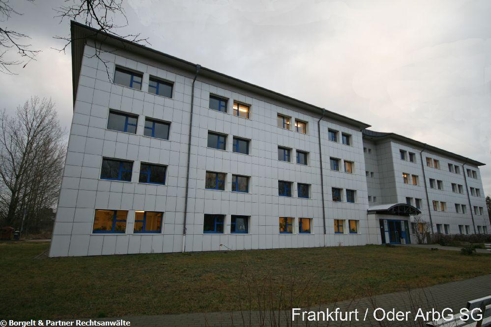 Frankfurt Oder Arbeitsgericht