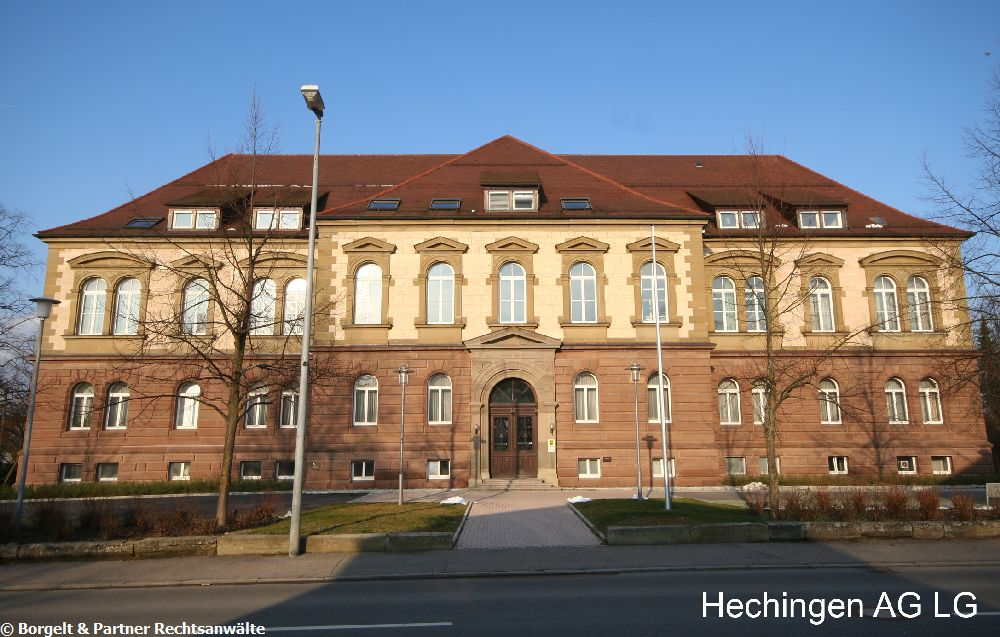 Hechingen Landgericht