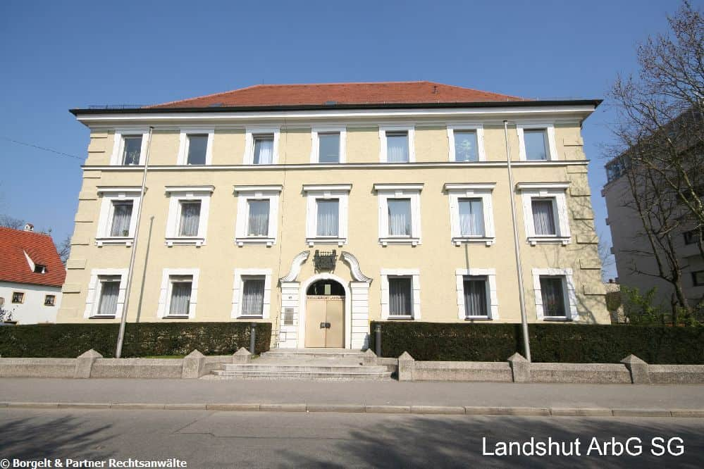 Landshut Arbeitsgericht