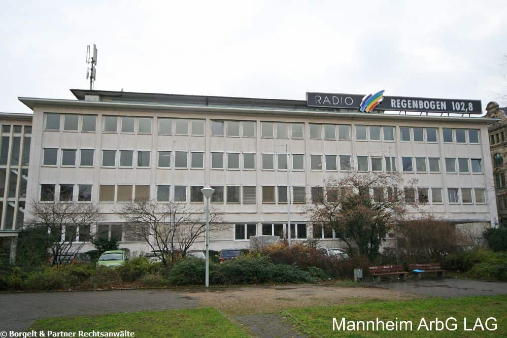 Mannheim Arbeitsgericht
