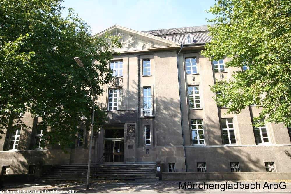Moenchengladbach Arbeitsgericht