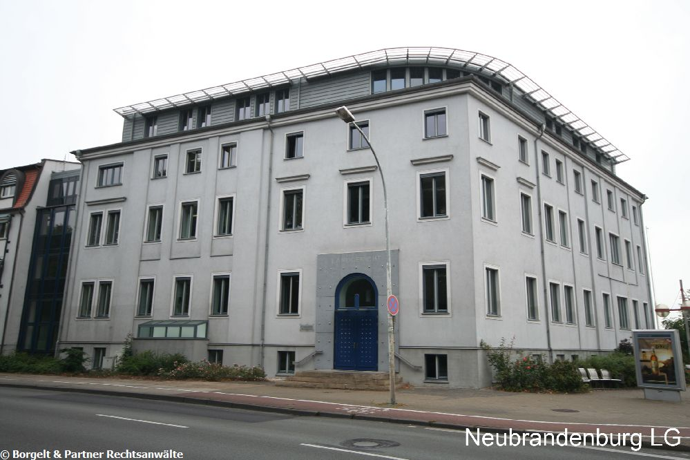 Neubrandenburg Landgericht