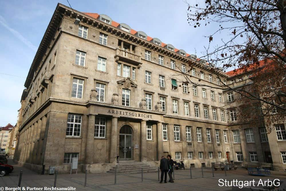 Arbeitsgericht Stuttgart