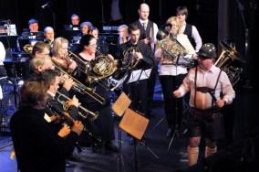 Mini-orkester og Dag Solheim