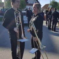 Gjensynsglede i trombonegruppa