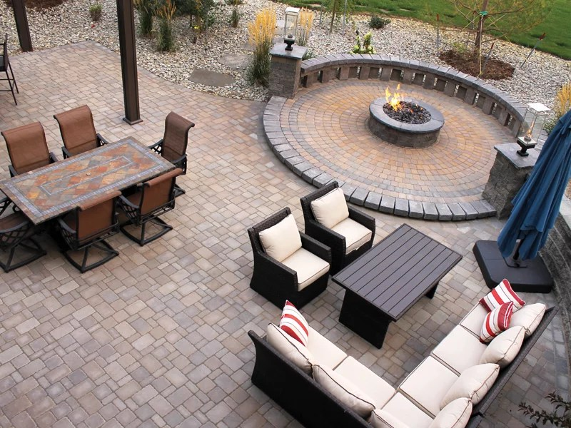 how to choose colors for a paver patio