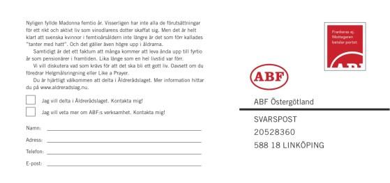 Byrå: Ubik! Projektledare och copywriter: Ulf Börgesson. Art Director: Ida Alfredsson.