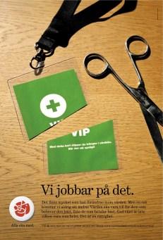 Byrå: Ubik! Projektledare och copywriter: Ulf Börgesson. AD: Petra Ryrberg (Milk). Original: Anna Forsman (Milk). Produktionsledning: Marcus Aggfelt (Milk)