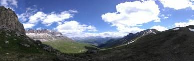 Dolomites Panorama- Valley of Pordoi