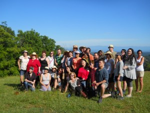 Federica's class from the Evergreen State College
