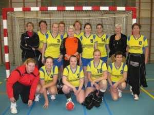 Borhave Dames 3 seizoen 2012-2013
