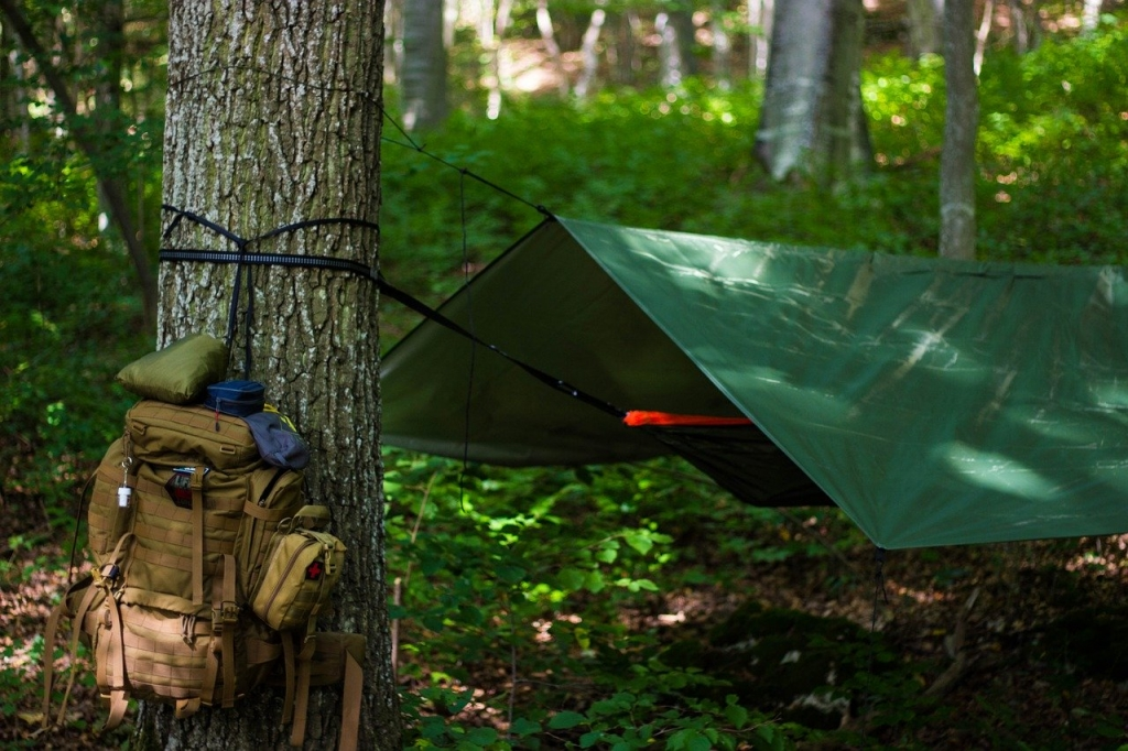 A Tarp Shelter – Outdoor Survival