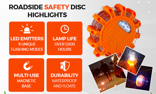 Roadside Safety Discs