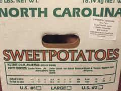 Sweet Potatoes from Wise Farm