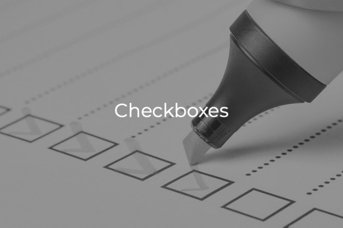 Life In Checkboxes