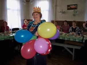С юбилеем Мария Александровна!
