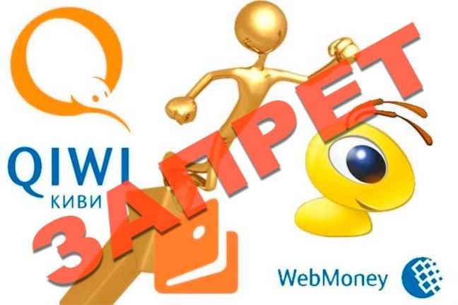 Использование электронных денег Webmoney, «Яндекс.Деньги», QIWI Wallet, «Wallet one/ Единый кошелек»