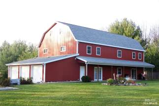 post frame barn home