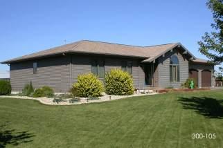 post frame house - pole barn home