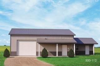 pole barn storage shed