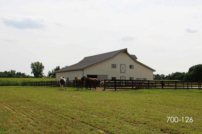 post frame horse barn