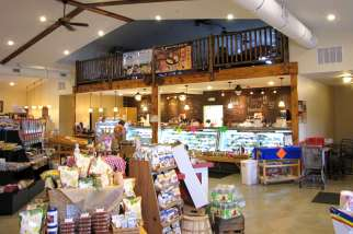 retail market interior