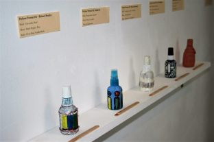 Perfume as Practice exhibition detail