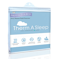 Protect  A Bed Therm-A-Sleep Pillow Protector- Review and Giveaway