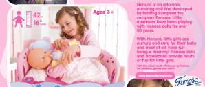 Born 2 Impress Holiday Gift Guide-Nenuco Sleep With Me Baby Doll and Cradle Review and Giveaway