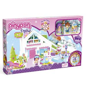Born 2 Impress Holiday Gift Guide-Pinypon Snow Ski Lodge and Snow Ski Lodge playset