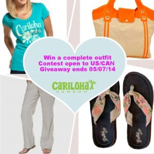 Welcome in Summer  with this chance to Win  a Complete Cariloha Bamboo Outfit and be Bamboo Comfortable from Head to Toe!