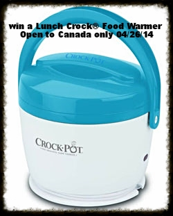 Crock-Pot® Slow Cooker -Review and Lunch Crock® Food Warmer Giveaway