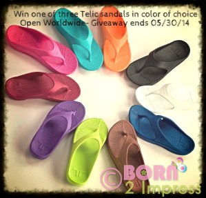 Treat your feet to the Comfort of Telic Footwear- 3 Winners Giveaway