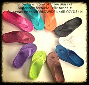 Father's Day Present? Telic Comfortable sandals are a Must! #Giveaway