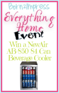 NewAir AB-850 84 Can Beverage Cooler from Air & Water Review,  Giveaway  and Discount!