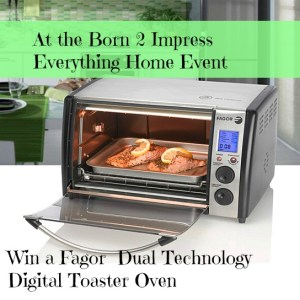 Fagor  Dual Technology Digital Toaster Oven- Giveaway