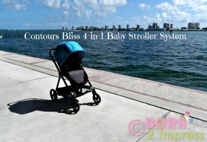 The Contours Bliss 4-in-1 Baby Stroller System Beautiful, Stylish and Versatile! Review and a Giveaway