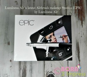 Get Picture Perfect Make up Everyday with the EPIC Airbrush Makeup System by Luminess Air