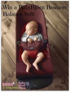 All About Baby Event- Your Baby Will Love the BabyBjörn Bouncer Balance Soft #Giveaway
