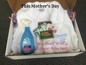 Win a Downy Wrinkle Releaser Plus Gift Box with Olive Garden, Target and Starbucks Gift Cards!