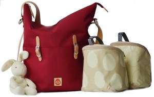 Meet PacaPod a Diaper Bag with an ingenious 3 in 1 Organization System!